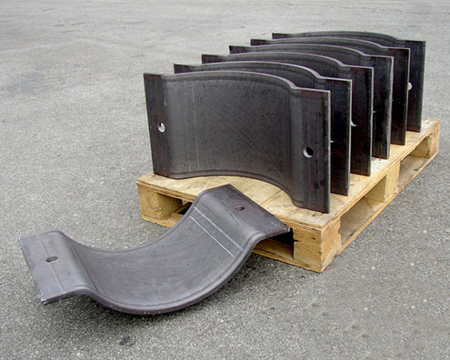 Heavy duty saddle clamp at rs ch pc onwards